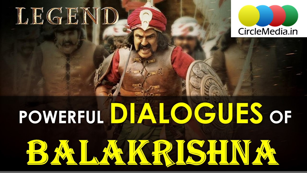 Most Powerful Dialogues Of Balakrishna | Balayya Movie Dialogues | CircleMedia.in